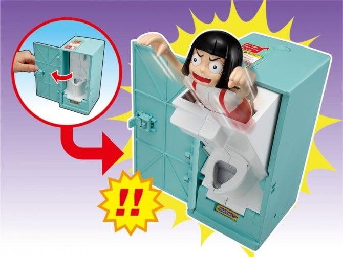 運が悪いとトイレのドアを開けた瞬間に「花子さん」が飛び出してくるバンダイ... あの花子さんが飛