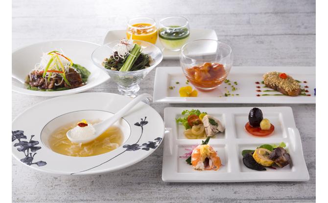 【プレゼント】ヒルトン東京 中国料理「王朝」の「美麗ランチ」【1組2名様】